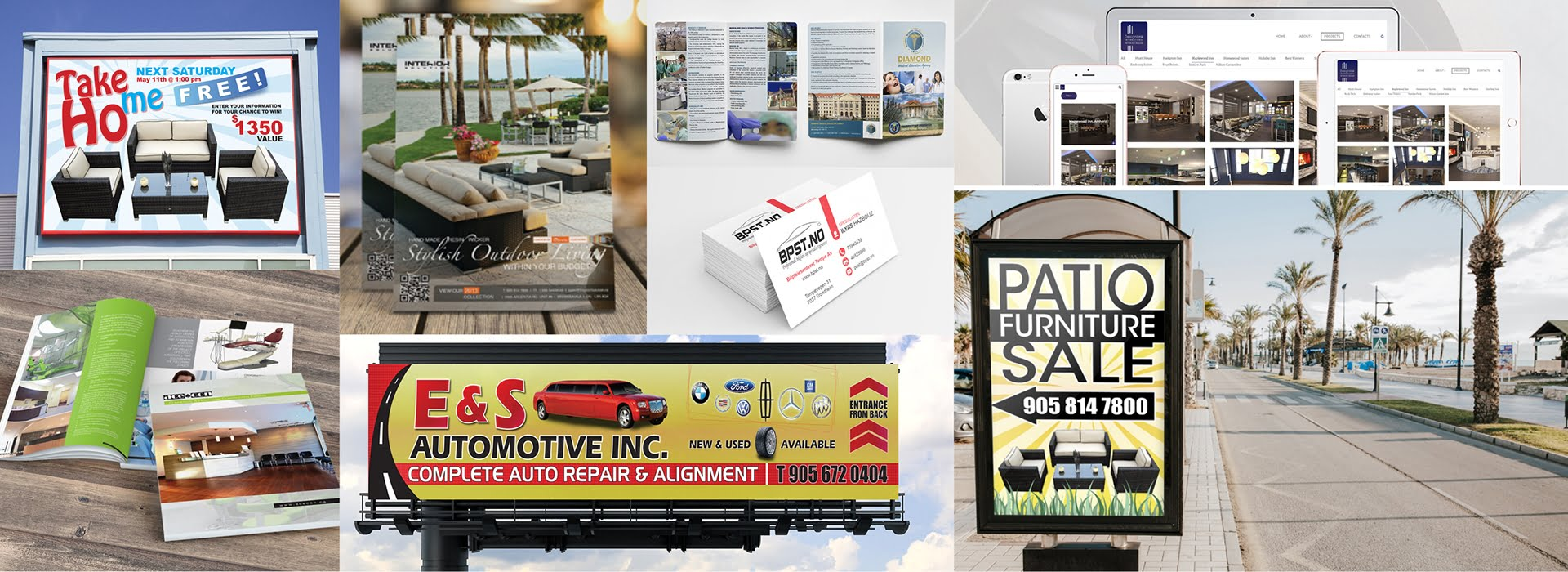 graphic web design and advertising services