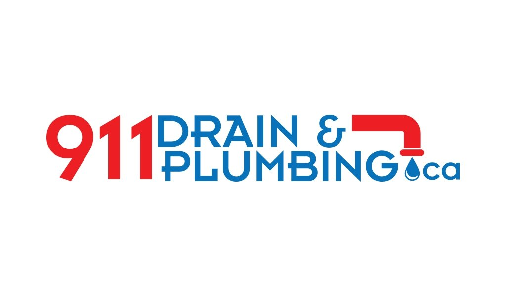 911 Drain and Plumbing Logo Design