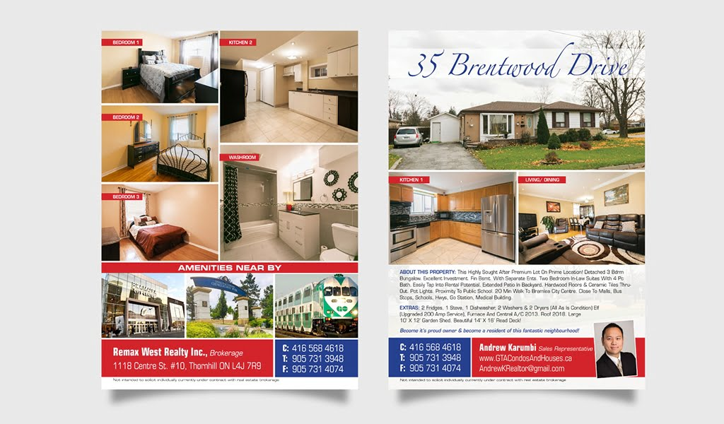 Remax West Realty Inc. Listing Flyer