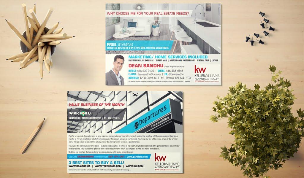 Dean Sandhu business flyer