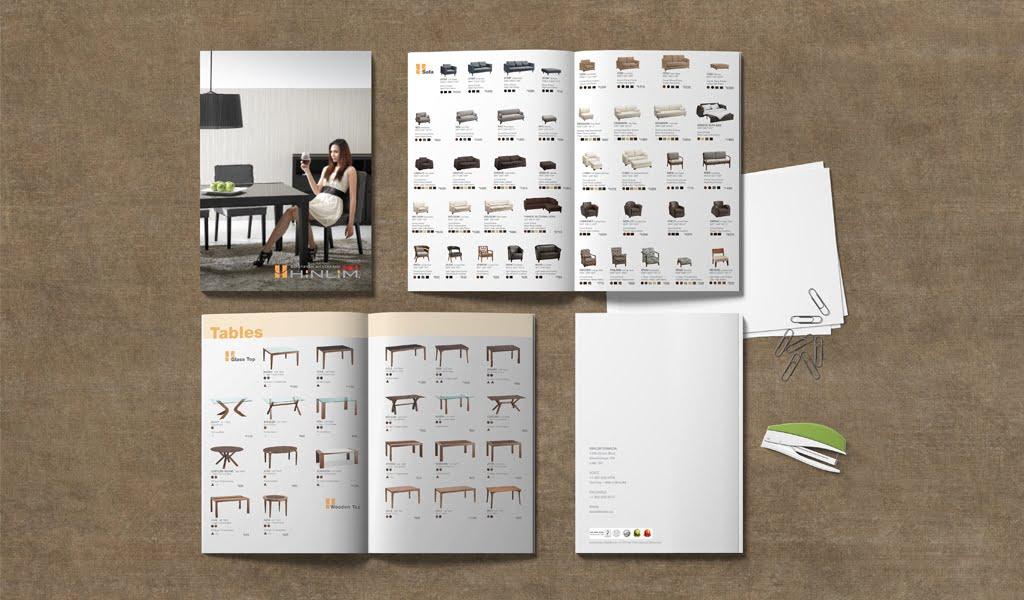 HinLim brochure design