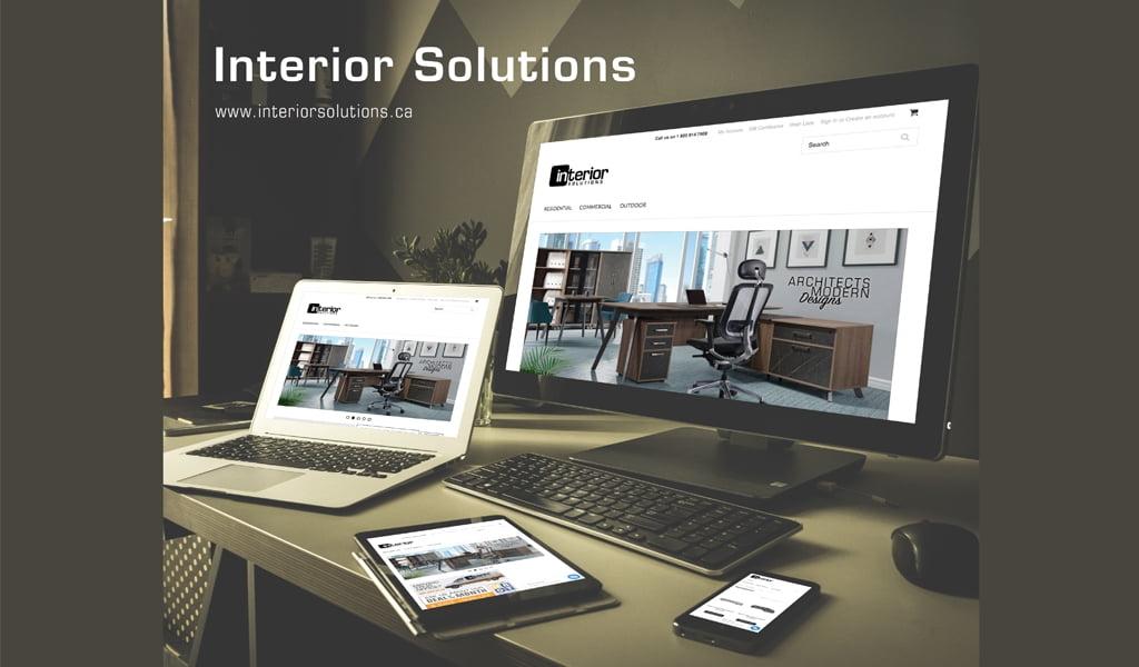 Interior solutions Furniture Online Store Design