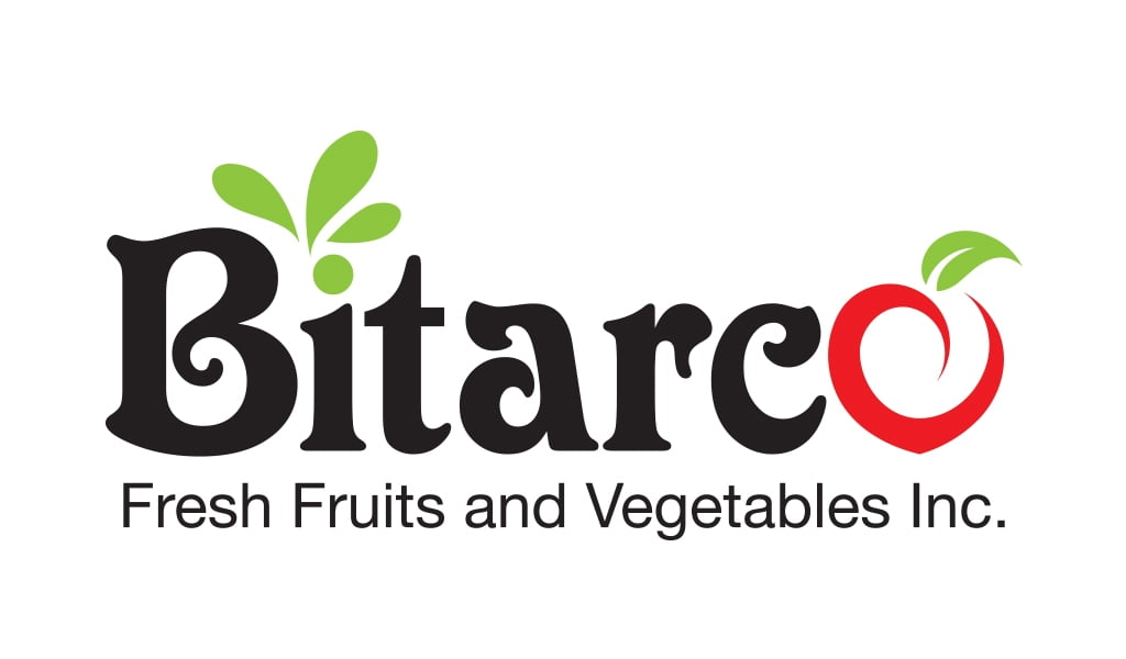 Bitarco fresh fruites and vegetables inc. logo design