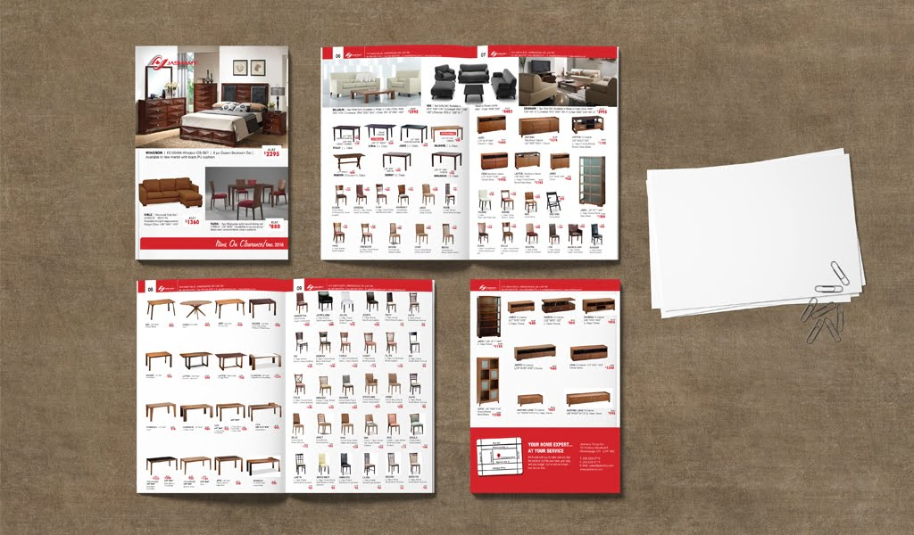 home furniture catalogue flyer