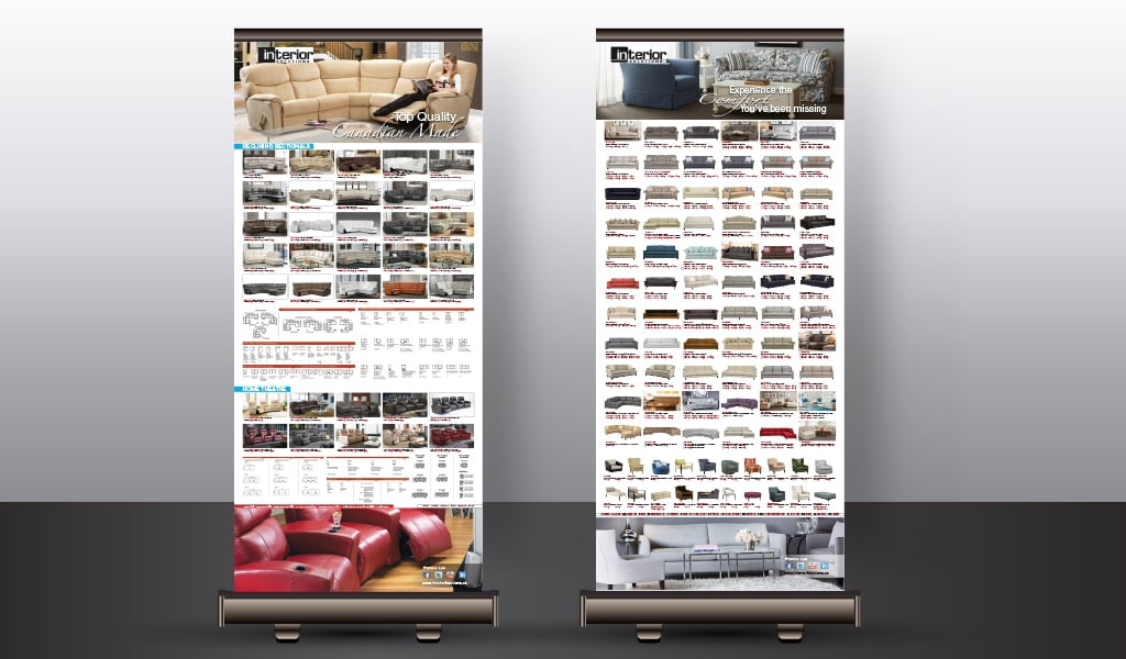 elran products roll-up banner