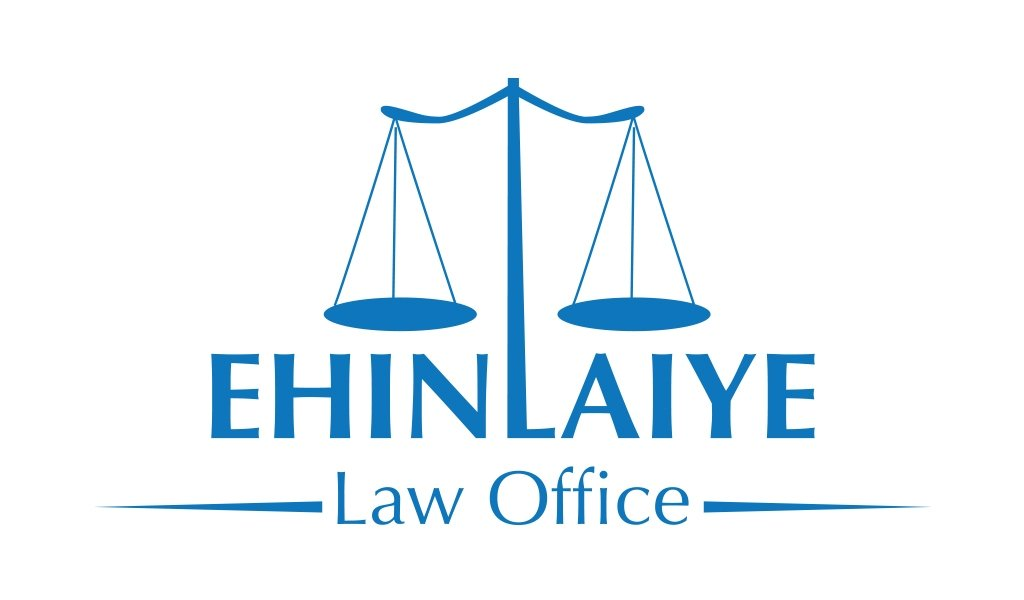 Ehinlaiye Law Office Logo Design