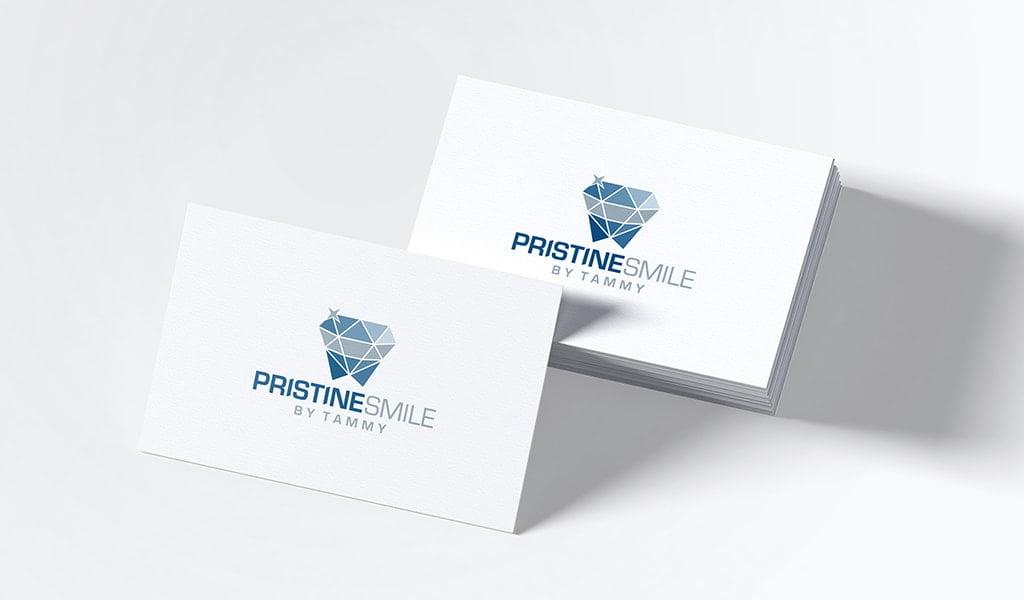 pristine smile logo concept 1